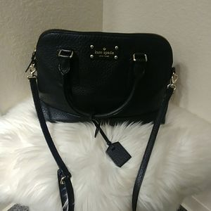 Kate Spade New York Black Dome Satchel Purse